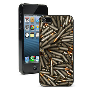 For iPhone X SE 5 5S 5c 6 6s 7 8 Plus Hard Case Cover 1156 Pile Of Bullets Ammo