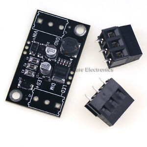 Sure 9v 30v Pwm Step down Buck Driver For 5w Led Dc dc Power Supply Module