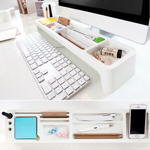 Desk Organizer Clean My Room Top Desk Organizer 42106 White