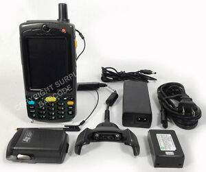 Symbol Mc7596 Mc75 Motorola Laser Barcode Scanner Windows Mobile 6 1 Wifi Gps