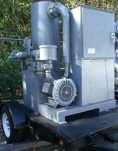 Trailer Thermal Catalytic Oxidizer 250 Cfm Global Tech Remedicat