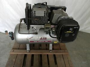 Air Compressor Powerex Sts 151 5hp 14 7 Cfm 100 Psi Screw Compressor