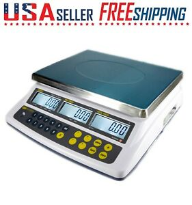 Easy Weigh Ck 60 Price Scale Rechargeable Battery Operated Lcd 60 X 0 01 Lb Ntep