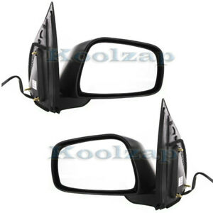 Power Rear View Fold Mirror Left Right Side Set Pair For Frontier Pickup Truck
