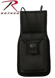 Police Security Tactical Black Enhanced Molded Universal Radio Pouch 20510