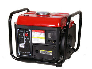 New 1200w 2 5hp Gasoline Quiet Gas Power Generator