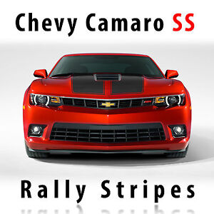 Chevrolet Camaro Ss S Sport Rally Racing Stripes Decal Kit Pre Cut 2014 2015
