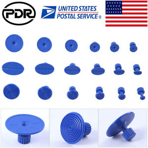 Us Pdr Tools 18pc Glue Puller Tabs Blue Pdr Paintless Dent Repair Tool Pulling