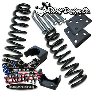 Crown Suspension 2015 2018 Ford F150 3 6 Drop Lowering Coils Flip Kit