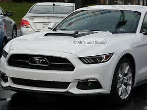 2015 2016 2017 Hood Scoop For Ford Mustang By Mrhoodscoop Unpainted Hs009