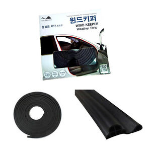 Upgrade New Weather Strip Noiseless 18m For 2011 2012 2013 2014 2015 Kia Picanto