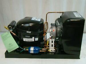 Copeland Hermetic Condensing Unit 115v 1 4hp M2th 0024 iaa 128 Are25c3e iaa 103