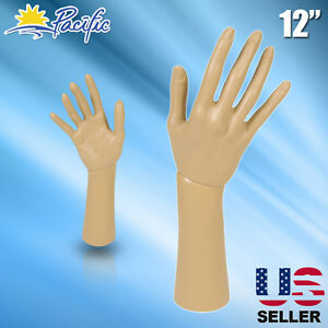Mannequin Hand Display Jewelry Bracelet Necklace Ring Glove Stand Holder 12