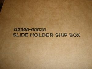 G2505 60525 Slide Holders For Agilent Dna Microarray Scanner Ca And Ba New