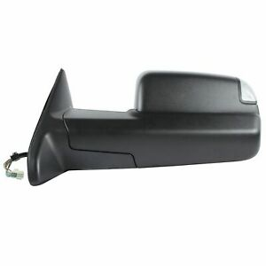 2009 2010 2011 2012 Dodge Ram 1500 Power Signal Tow Mirror Driver Left Side
