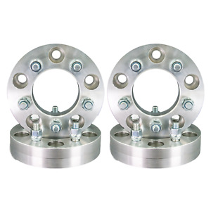 5x5 To 5x4 75 Wheel Adapters 1 25 Thick 12x1 5 Lug Studs Billet Spacers X 4