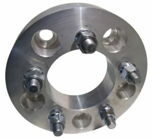 5x4 5 To 5x475 Wheel Adapters 1 25 Thick 12x1 5 Lug Studs Billet Spacers X 4