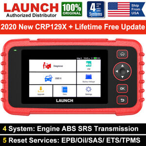 Launch Crp429 Obd2 All System Diagnostic Scanner Oil Reset For Ford Gm Bmw Jeep
