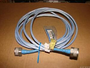 H s Huber Suhner Sucoflex 100 104 3m Coax N To N Male Plug 18ghz Test Cable