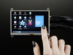 Adafruit Hdmi 5 Inches 800x480 Display Screen Lcd With Touchscreen Raspberry Pi