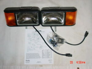Curtis Sno Pro 3000 Plow Lights Snowplow Light Kit Truck Lite Ford Chevy Dodge