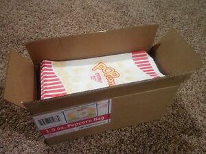 1000 1 5oz Popcorn Bags Home Theater Party Movie