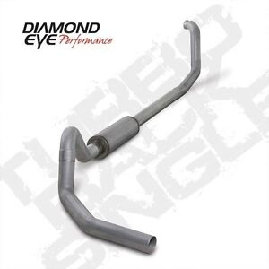 Diamond Eye 4 Turbo Back Exhaust System 98 03 Ford E series 7 3l Powerstroke