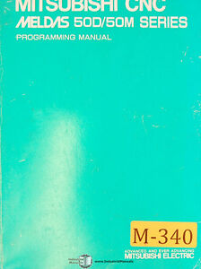 Mitsubishi Cnc Meldas 50d 50m Seris Programming Manual Year 1995