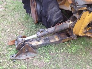 John Deere 310c Backhoe Right Stabilizer With Foot Less Cylinder