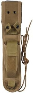 Ka Bar Knife Sheath Coyote Brown Tactical Cover 7quot; Will Fit Hunting Knives 40065 $19.99