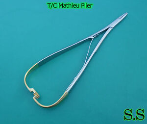 5 T c Mathieu Plier 5 50 Orthodontic Surgical Dental Instruments New