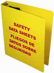 Osha Bilingual Budget Rtk Center 1 5 Sds Binder Wire Rack msds Binder