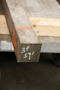 304 Stainless Steel Square Bar 3 X 3 X 12 Surplus Material F