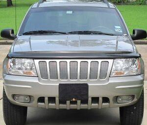 Chrome Mesh Grille Grill Kit For Jeep Grand Cherokee 1999 2000 2001 2002 2003