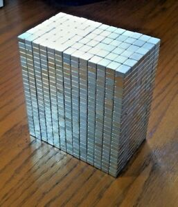 100 Neodymium Block Magnets Super Strong N52 Rare Earth Magnets