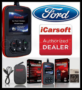 Ford Car Diagnostic Scanner Tool Srs Abs Check Engine Obd2 Code Reader Scan Data