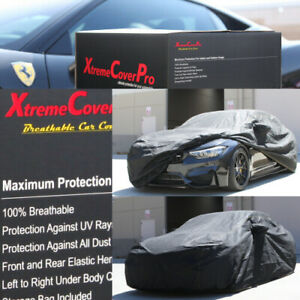 2015 Bmw M4 Convertible Breathable Car Cover W Mirror Pockets Black