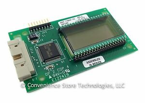 New Veeder root Gilbarco Single Ppu Lcd Display Board T18699 g2