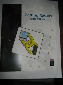 Rockwell Software 9399 wab32gr Getting Results With Rslinx Manual Used