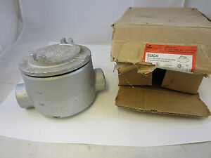 Crouse Hinds Guac49 Explosion Proof Junction Box C Style 1 1 4 New