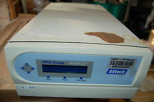 Pump Hplc Alltech Model 627 Chromatography Lc Preparative Prep