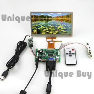 Hdmi Vga control Driver Board 7 Inch Tft Monitor touch Screen For Raspberry Pi