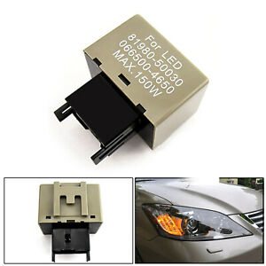 8 Pin Led Flasher Relay Fix Led Turn Signal Light Bulbs For Subaru Brz Wrx Sti