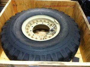 General Tire 14 00 20 18 Ply Military Tire Wheel Assembly Appears Unused