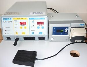 Erbe Icc 200 Electrosurgical Unit With Erbe Eip2 Irrigation Pump