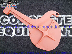 Cleanout Trap Door Oem 10080782 For Schwing Concrete Pump