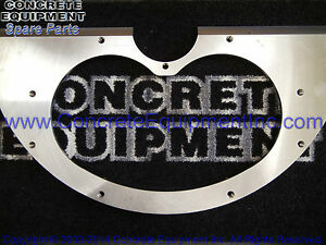 9 Baseplate 180 200 230 Oem 10074769 For Schwing Concrete Pump