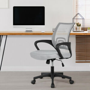 Adjustable Swivel Ergonomic Mesh Mid back Executive Computer Office Chair Black
