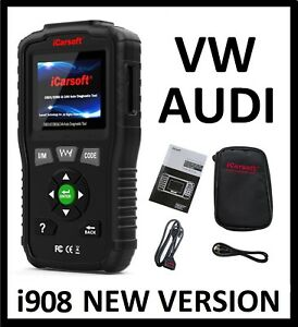 Volkswagen Vw Audi Diagnostic Scanner Tool Airbag Code Reader Icarsoft Vaws V1 0