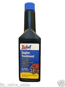 Tufoil Long Run Gas Diesel Engine Run Smoother Treatment Oil 8 Oz Tufoil 8 Oz